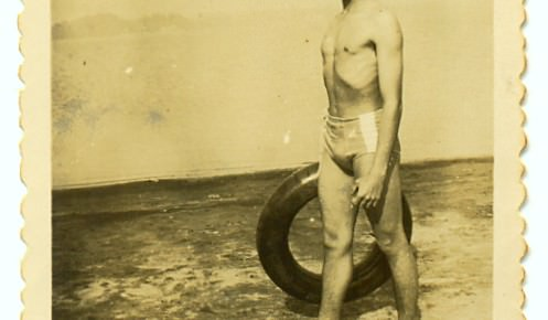 Represa de Santo Amaro. 1950.