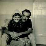Lênio e sua sobrinha Jussara