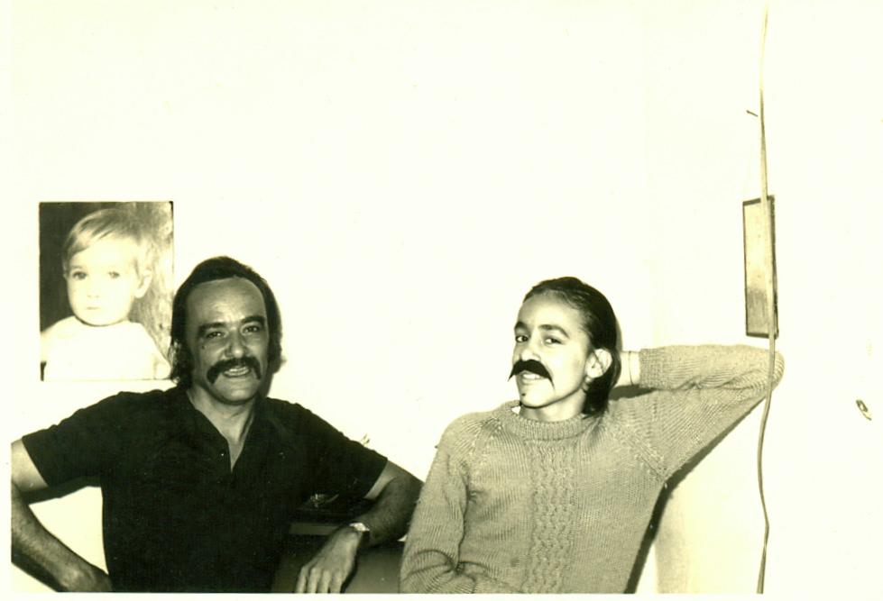 Lênio e filho