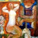 Pintura da série Cânticos dos cânticos.