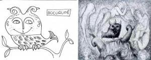 Bocurupê e desenho