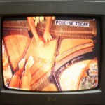 Imagem do piano na I Bienal, 1966.