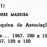 1967 Bienal SP - obras