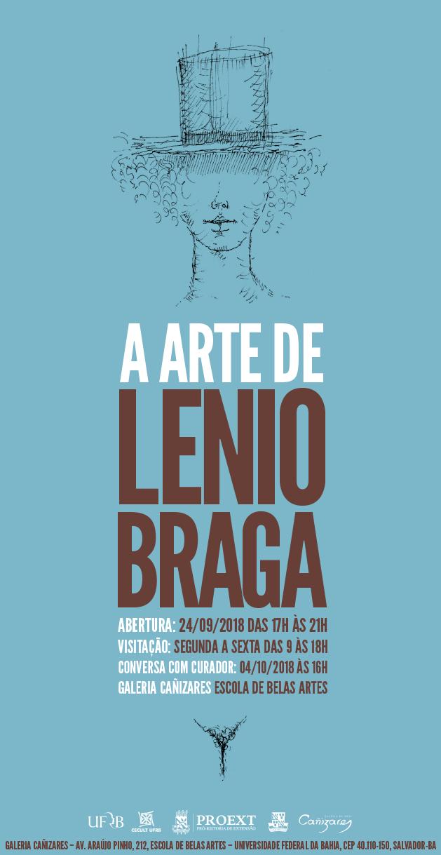 """Exposição """"A arte de Lenio Braga"""""""