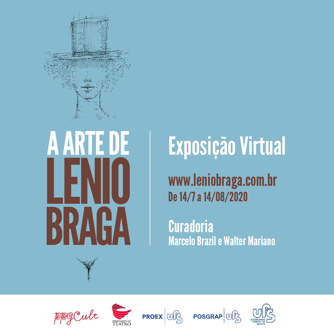 """Está no ar! Visite a Exposição virtual """"A arte de Lenio Braga""""!"""